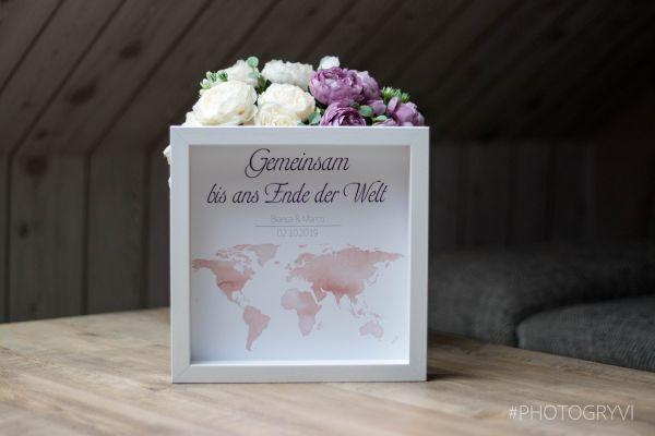 """Geldgeschenk """"Reisekasse"""" OHNE Öffnung für Geld oder liebe Wünsche (Maße 23x23 cm)"""