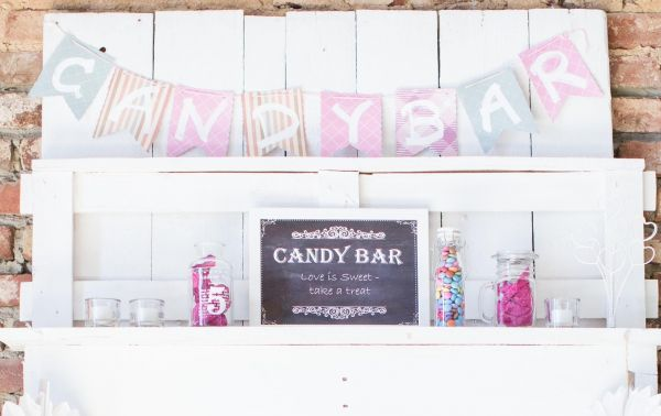 "PDF Datei ""Candy Bar"" chalkboard"