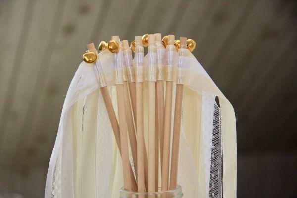 Wedding Wands - Hochzeitsstäbe mit Glöckchen in silber oder gold